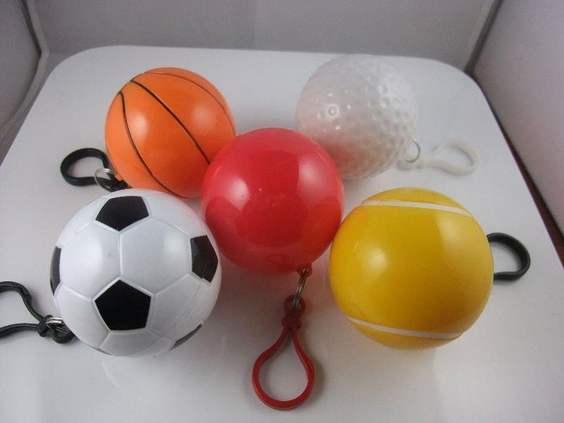 disposable golf ball poncho