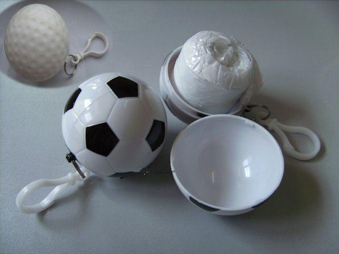 Compressed Rain Poncho Ball