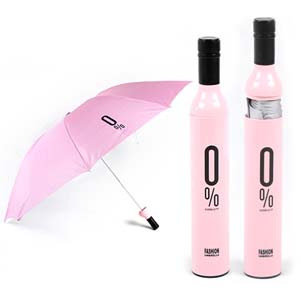 Wine Bottle Shape Umbrella