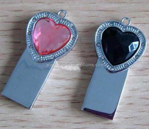 Jewelery usb flash drive