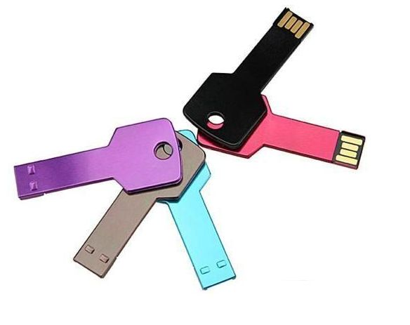 Key shape USB flash drive,Metal USB flash disk