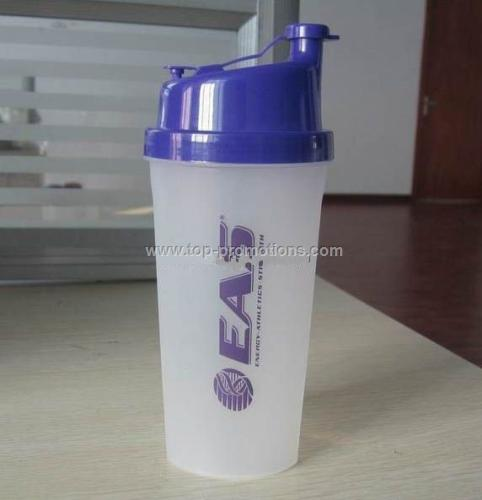 ESA plastic shaker bottle
