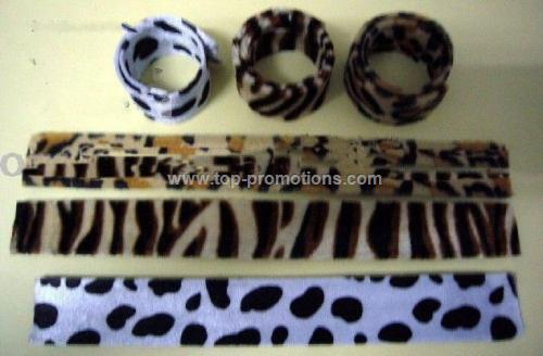 Fabric Slap Bracelets