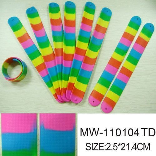 Rainbow Slapbands