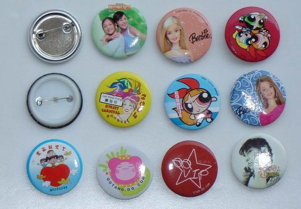 Button Badge, Magnet Button, Lapel Pin, Tin Badge