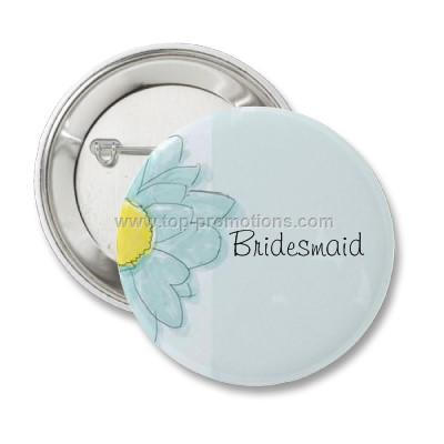 Transparent button badge