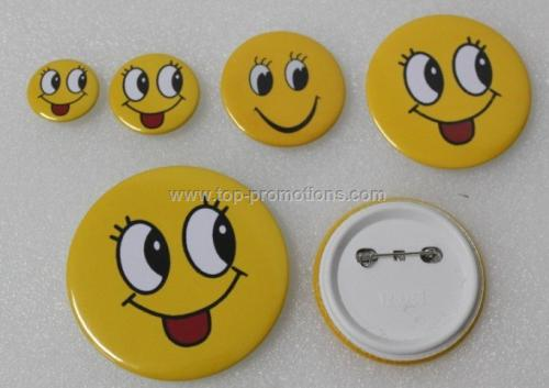 25mm Round Button Badge