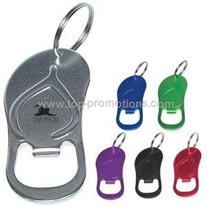 Sandal Bottle Opener with Key Ring