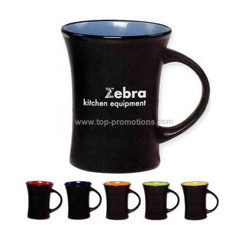 Aztec Colors  Mug with D-shaped handle, 10 oz.