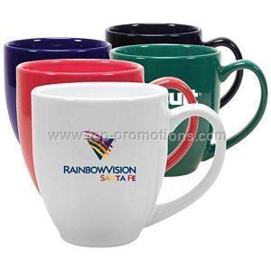 15 oz glossy ceramic mug
