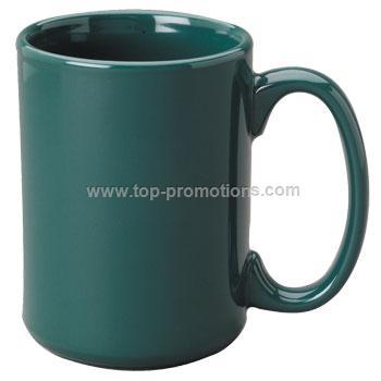 15 oz el grande ceramic mug - green