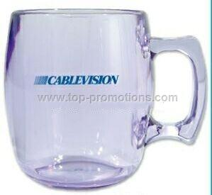 Clear Acrylic Coffee Mugs