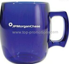 Blue Acrylic Coffee Mugs
