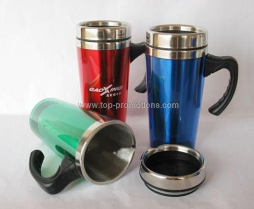 Stainless steel travel mugs/Promotional Coffee Mug