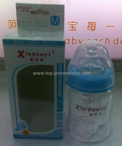 borosilicate glass baby bottle