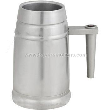 Beer mug 20 oz.Double stainless steel Comfort grap