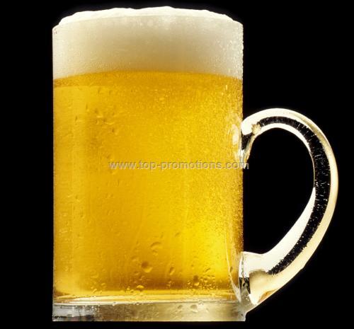 beer mug with lipped bottom
