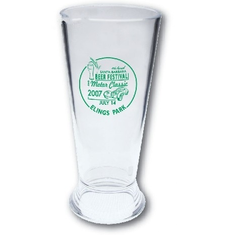 Styrene Pilsner Sampler Glass