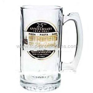 16 oz. - Glass beer mug