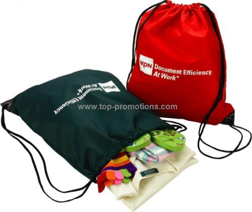 Drawstring Sports Backpack (Laundry Bag)