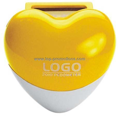 Heart mini Pedometer