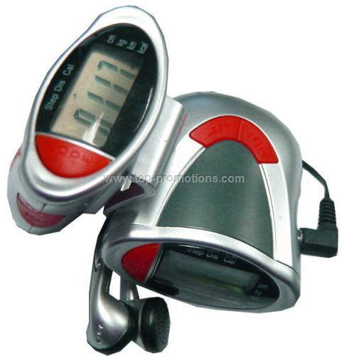 Pedometer Radio