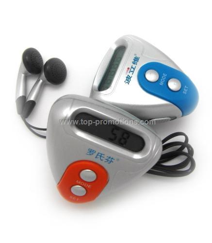 FM Radio Pedometer