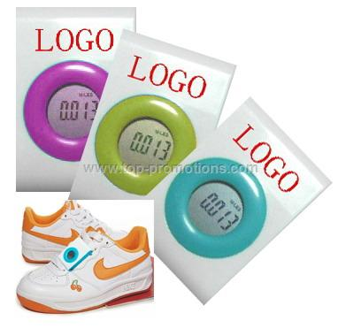 Multifunctional heart-shape pedometer