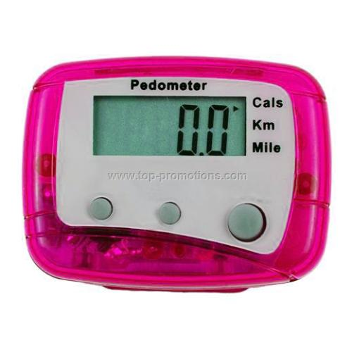 Deluxe Multi Function Pedometer