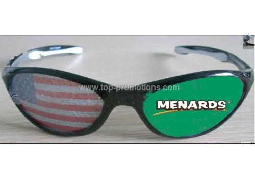 Custom flag sunglasses