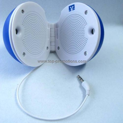 Round shape mini speaker