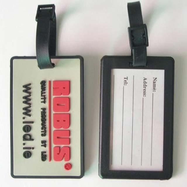 Soft pvc luggage tags