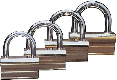 P-Type Brass Padlock