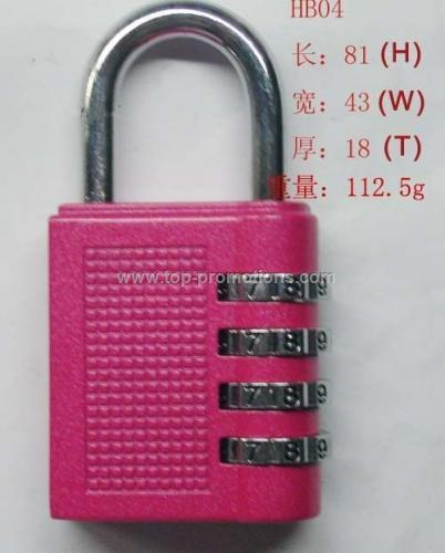 DIGITDIGIT COMBINATION PADLOCK