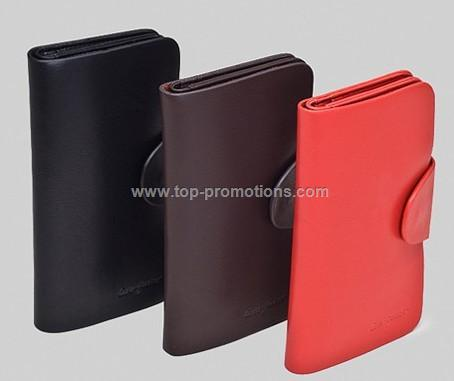 Leather Magic Coin Long Wallet