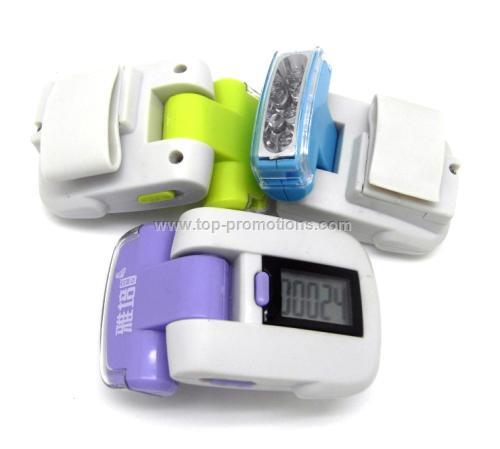 LED pedometer