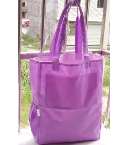 double-sided use shopping bags