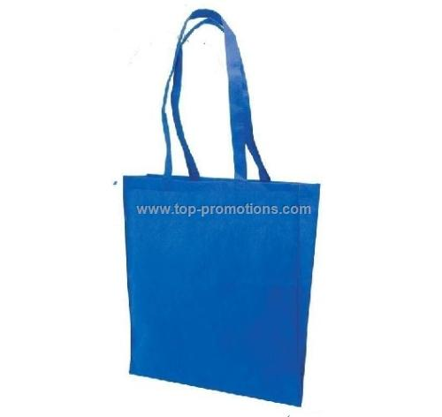 Colored Frosted Shopping Bag