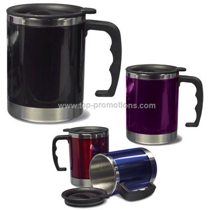 Coloured Stainless Steel Mug