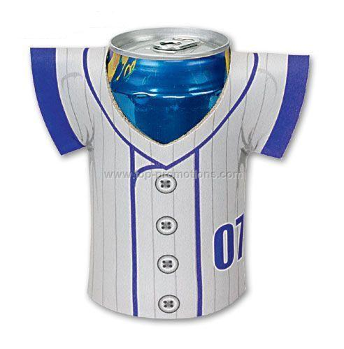 4-Color Process Koozie Jersey Can Kooler