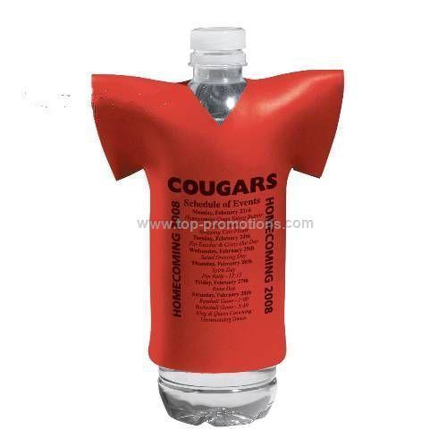 Collapsible T-Shirt Bottle Cooler