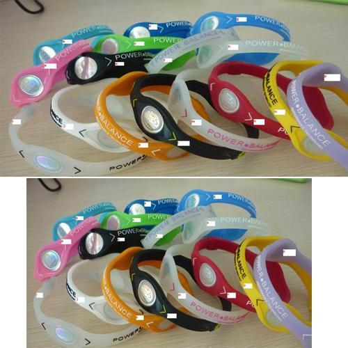 silicone power balance bracelet