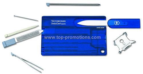 Swisscard Quattro Tool Kit