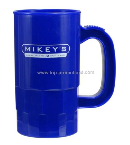 promotional 660ml pp plastic beer stein