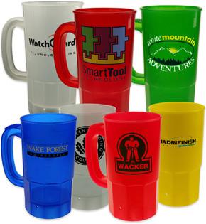 Litre Plastic Mugs
