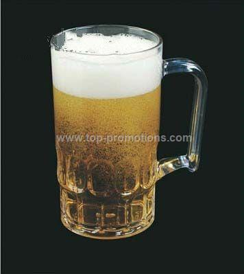 Plastic beer stein
