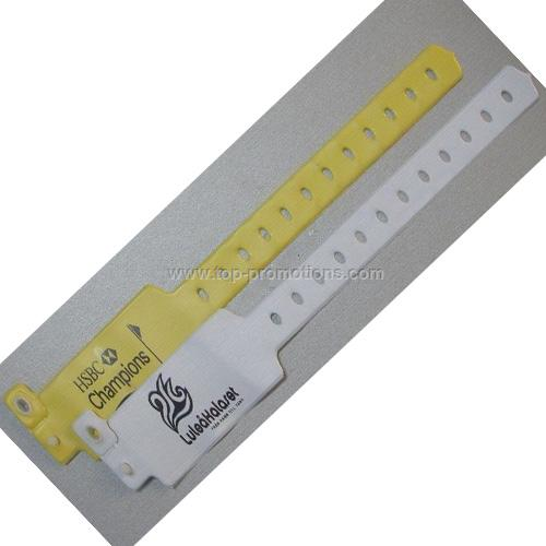 PVC ID Wristbands