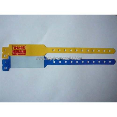 L shape ID bracelets