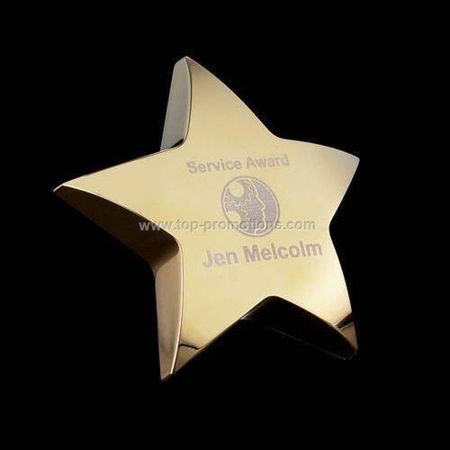 Hollister Star - Standing/Gold