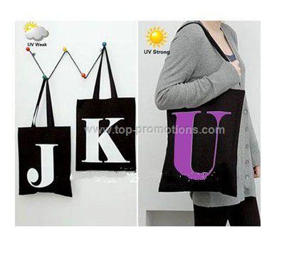 Color Changing Bag,UV bag,UV color changing bag